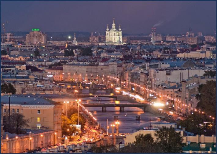 Санкт-Петербург. Ночной  город