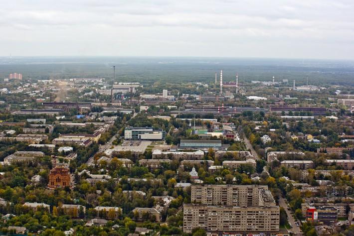 Панорама Электростали