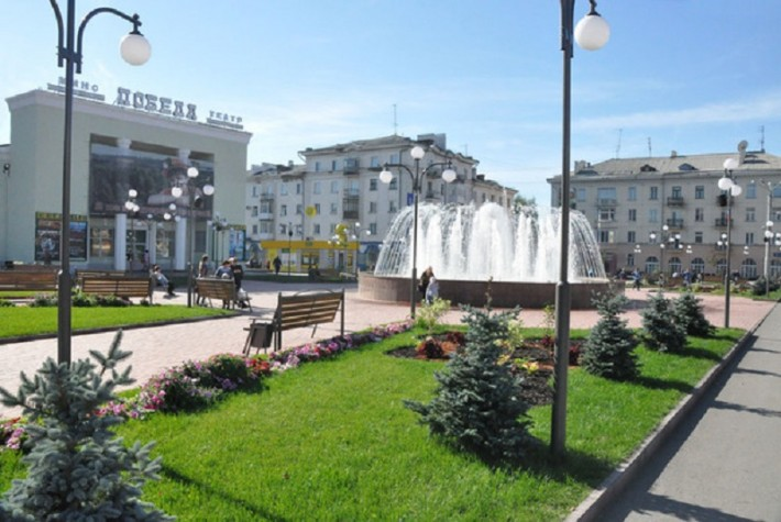 Обновленный центр города
