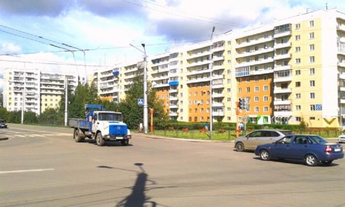 Обновленные фасады зданий по красной линии