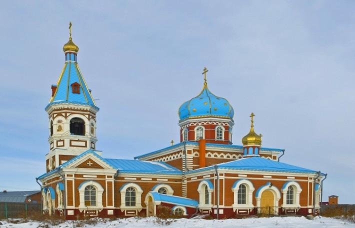 Свято-Никольский монастырь, с. Большекулачье