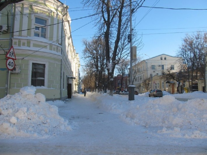 Таганрогская зима