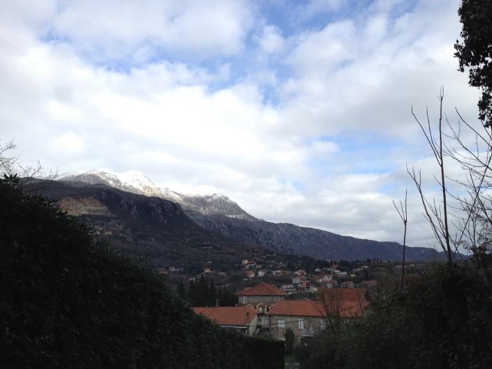 Вид со Шпаньолы. Зима в Херцег-Нови. 2014 год