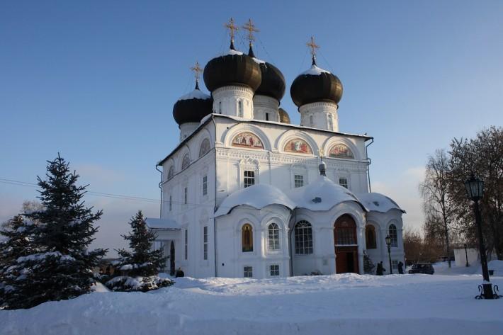 Успенский Трифонов монастырь в Кирове
