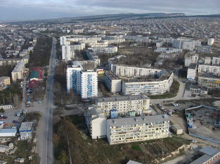 Панорамный вид города
