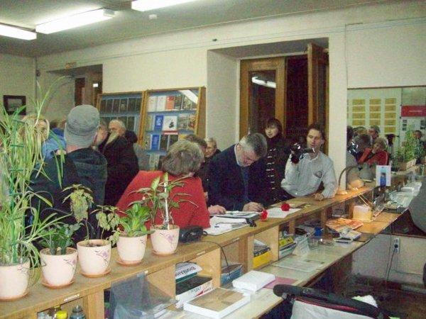 Повторное открытие Европейского Университета после приостановки его работы в феврале 2008 года
