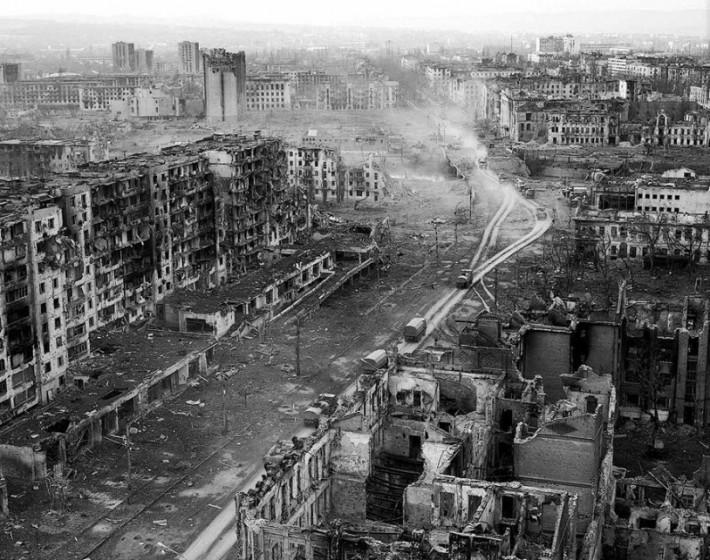 Так город выглядел в 1995 году