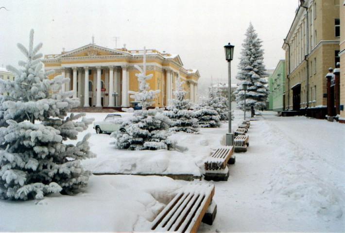 Зима в Железногорске