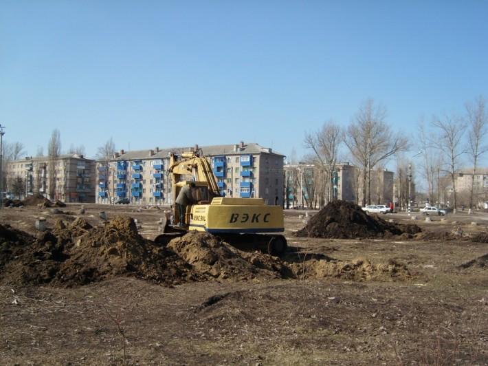 Строительство нового детского развлекательного центра
