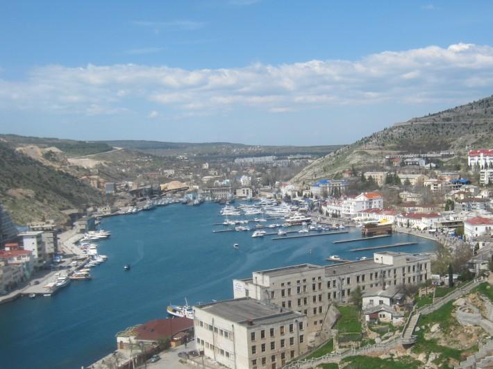 Вид Балаклавы с Генуэзской крепости