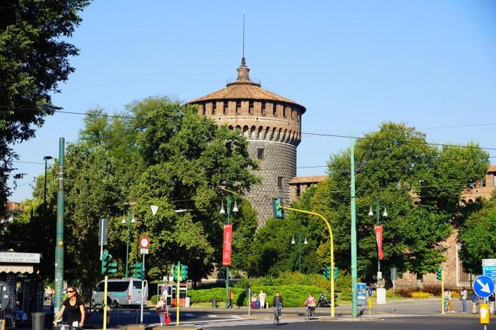 Башня замка Сфорца