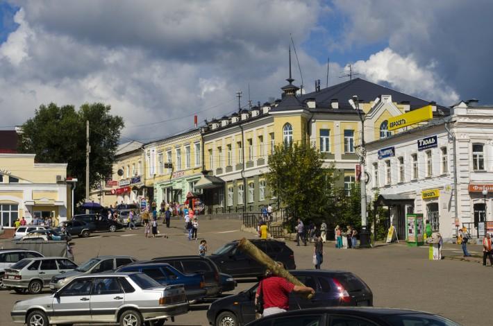 Кинешма, Центральная площадь