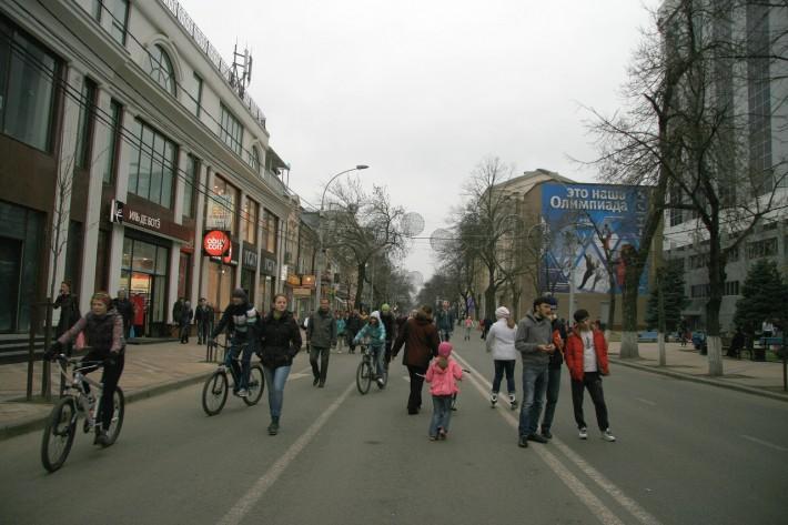 Краснодар. Весна. Улица Красная