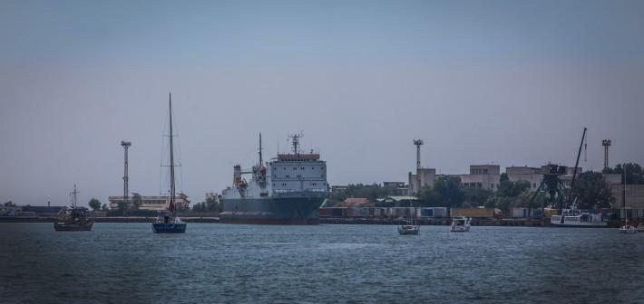 Морской порт Евпатории