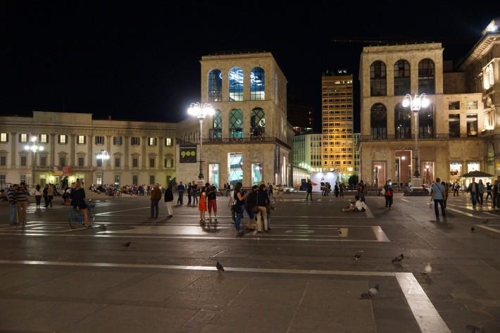 Ночь на Центральной площади