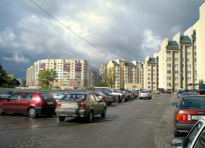 Новостройки на улице Зелёной
