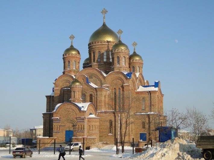 Церковь в честь иконы Пресвятой Богородицы Умиление, ул. Гагарина / ул. Молодежная