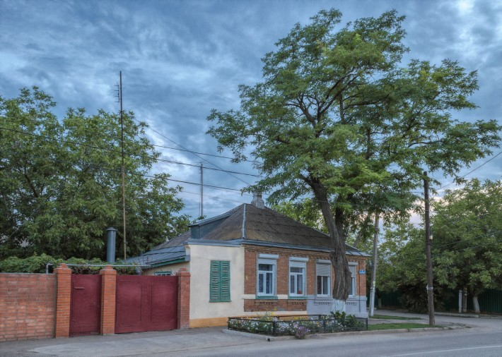 Типичный ейский домик