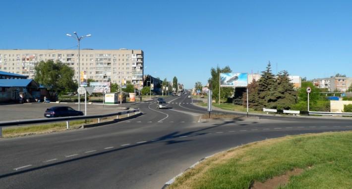 Улица Красная в Ейске