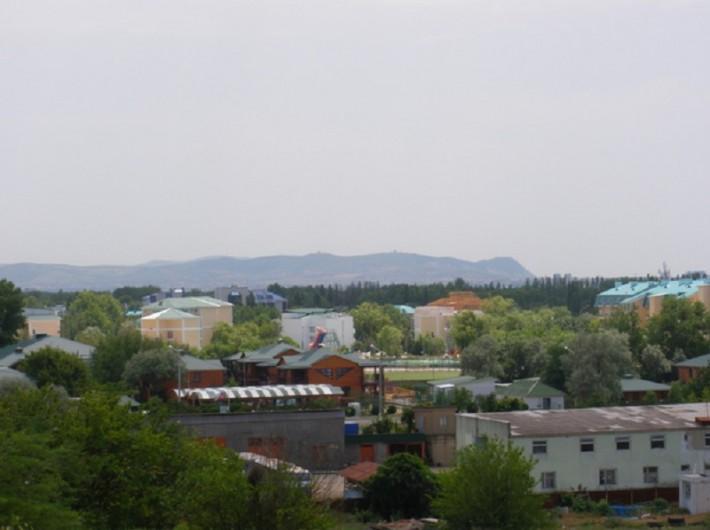 Вид на Витязево из окон моего дома