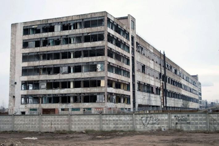 Корпус «Магмы» после банкротства и вывоза оборудования