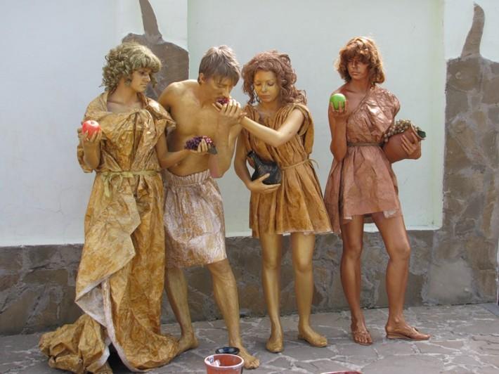 Открытый евпаторийский чемпионат «живых статуй»
