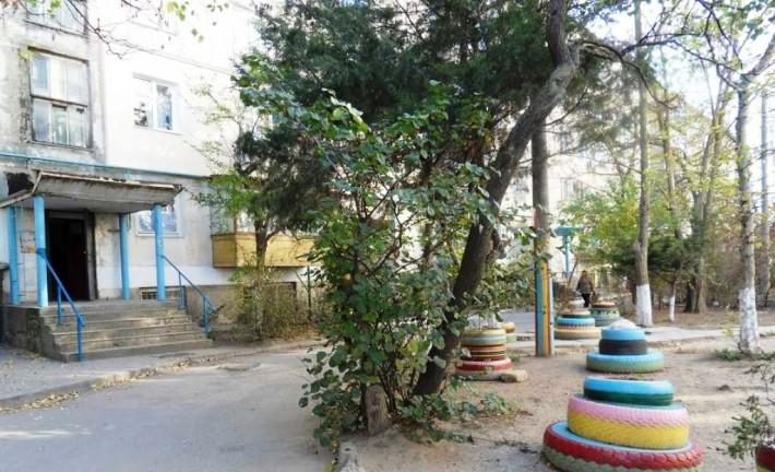 Уютный дворик в районе «За линией»