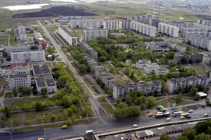 Район пятиэтажек