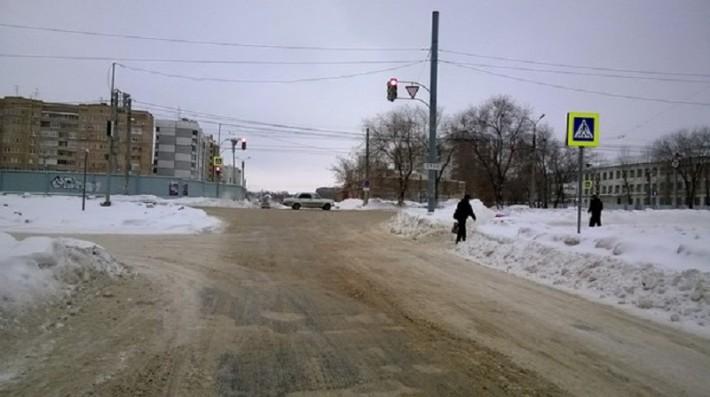 Пересечение ул. Свердлова/ пр-т. Победы
