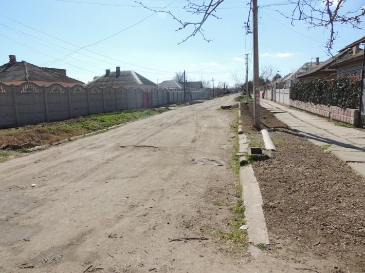 Состояние дорог улицы, примыкающей к ул. Ленина