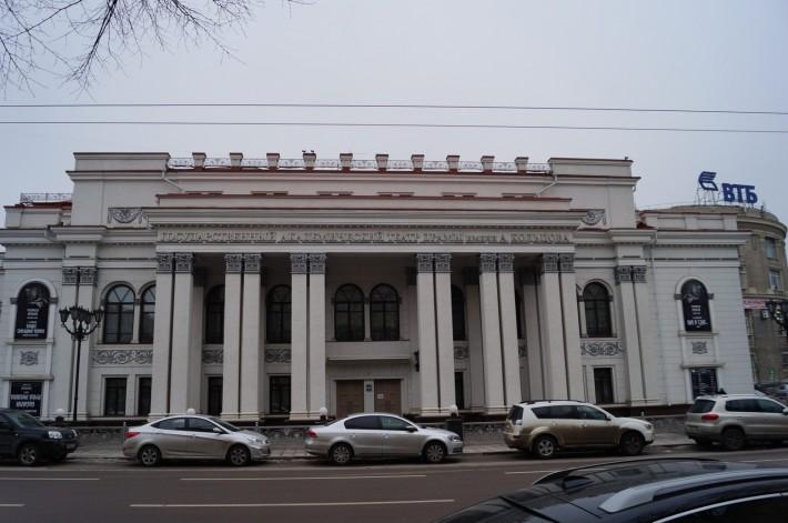 В Воронеже 7 разных театров