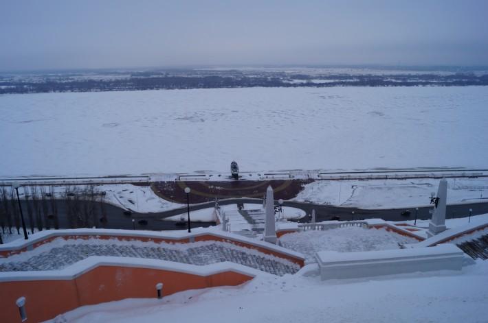 Вид с верхней набережной