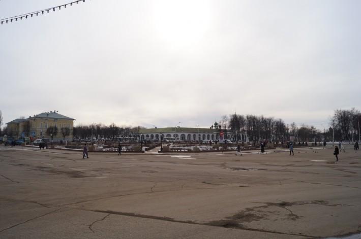 Сусанинская площадь, точка пересечения фактически 10 улиц