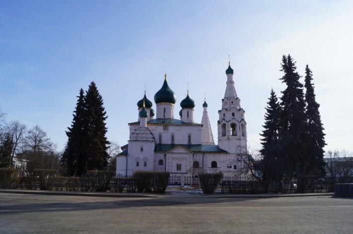 Церковь Ильи Пророка на Советской площади