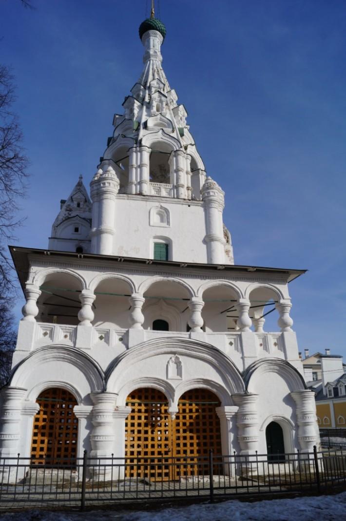 Колокольня церкви Рождества Христова.  XVII век