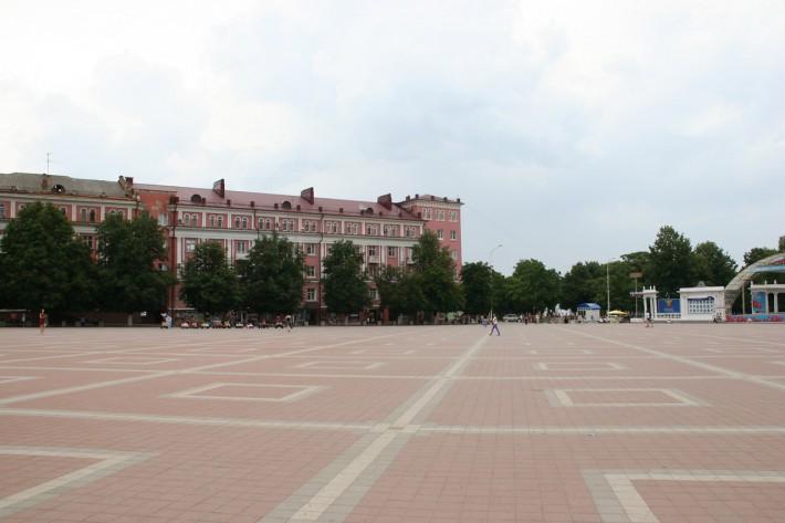 Армавир. Центральная площадь