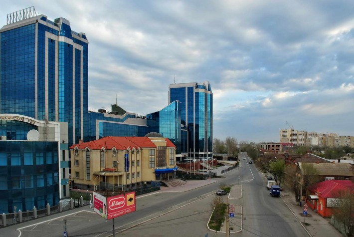 Астрахань. Гранд-отель