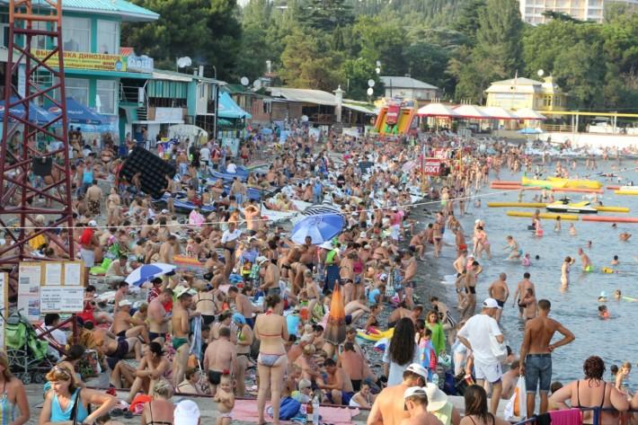 Бесплатный крымский пляж