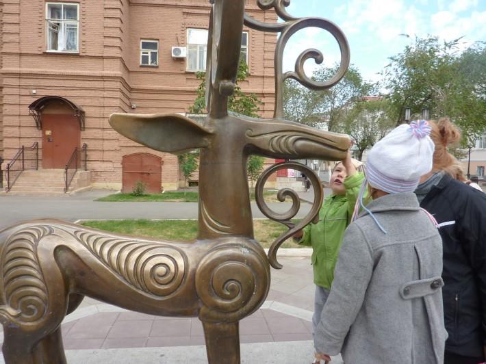 Фигура Сарматского оленя