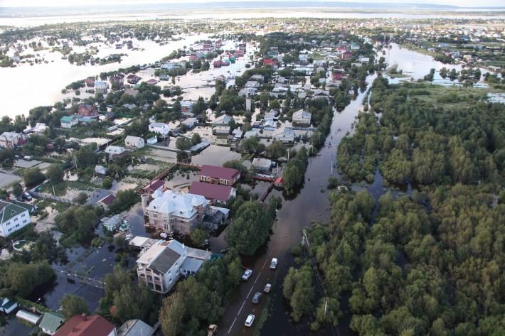 Результат наводнения в Амурской области