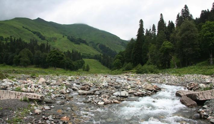 Типичный пейзаж региона