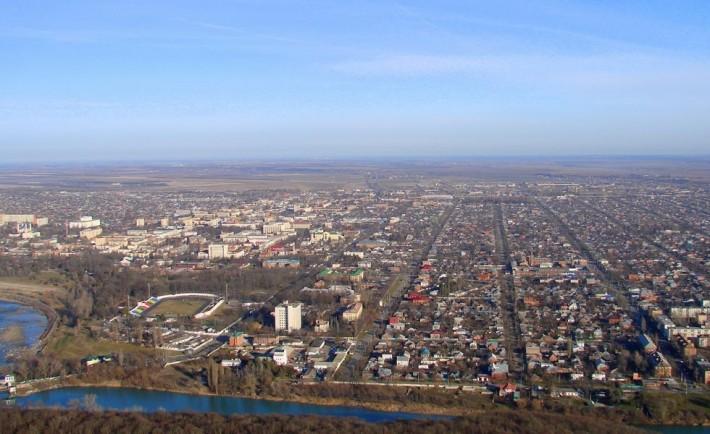 Панорама Майкопа
