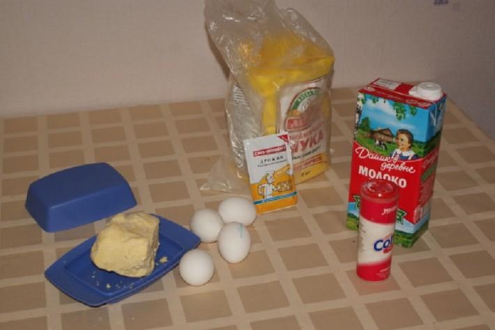 Необходимый набор продуктов питания