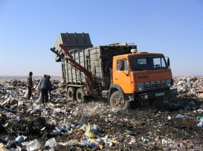 Свалка твердых отходов