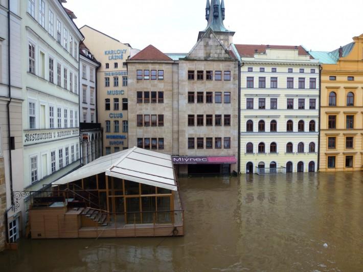 Наводнение в Праге — лето 2013