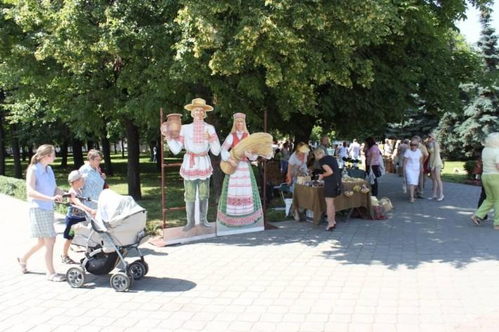 Ярмарка на день города