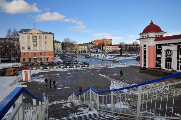 Саранск. Привокзальная площадь