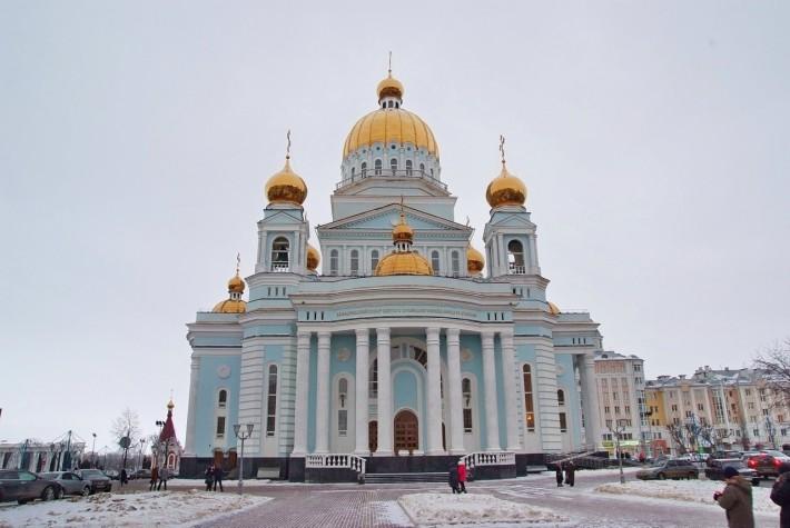 Собор Федора Ушакова в Саранске