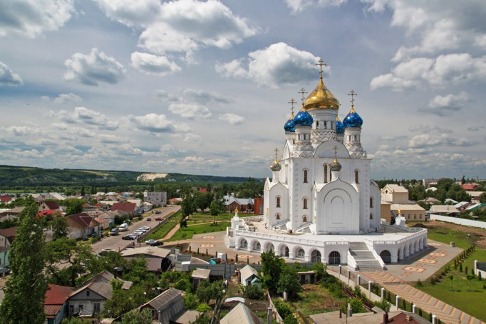 Собор Владимирской иконы Божией Матери в Лисках