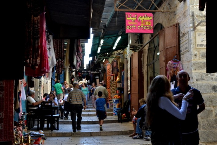 Узкие улочки города